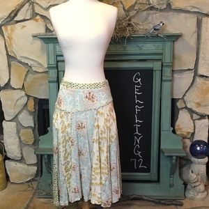 Lux Patchwork Skirt